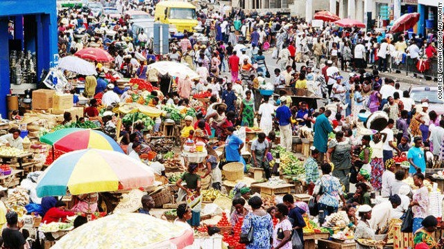 Traders slash prices of goods in Accra