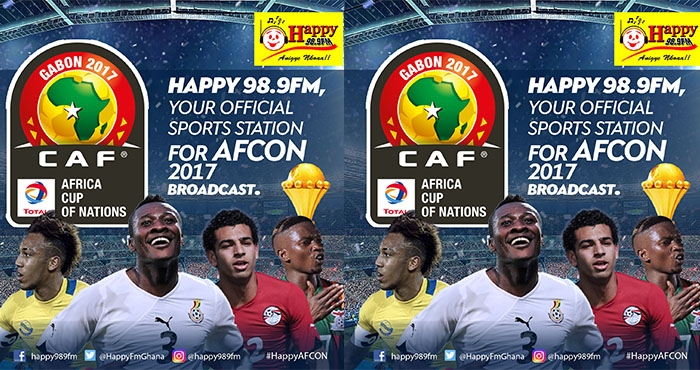 HAPPY FM TO BROADCAST LIVE AFCON GAMES TO FANS