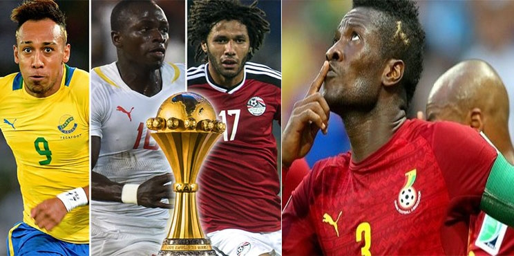 Gyan, Aubameyang, Mahrez, Mane and 16 other players to watch at AFCON