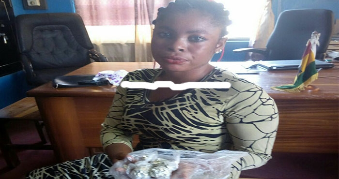 Lady arrested for attempting to smuggle cocaine into Prison