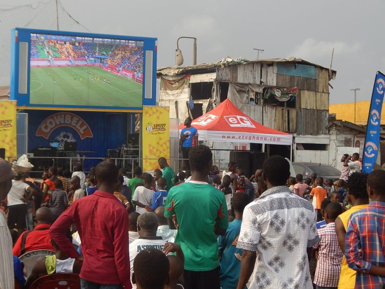 JUNCTION MALL SET FOR HAPPY FM-COWBELL AFCON TRAIN ON WEDNESDAY