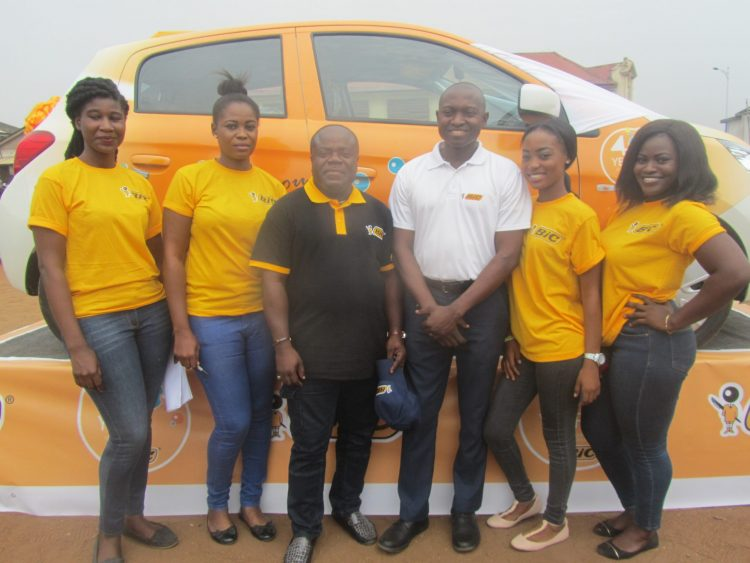 Inusah Munkaila Wins Car In Bic Shaver at 40 Promo