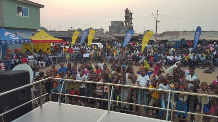 Hundreds Throng Sabon Zongo For Happy FM-Cowbell AFCON Coverage
