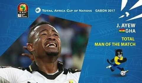Jordan Ayew scoops man of the match in Ghana-Dr Congo duel