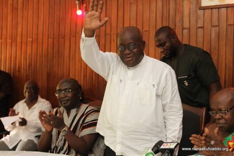 Know Akufo-Addo's Key team members at the presidency