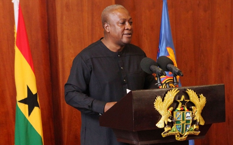FULL TEXT: Mahama's Last State-of-the-Nation Address