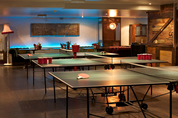 Ghana's First Table Tennis Pub Opens In Accra