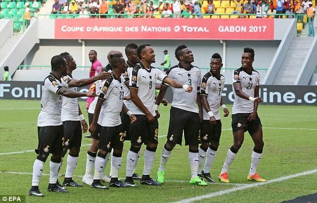 Grant names starting line-up against Egypt