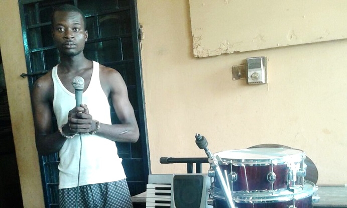 Self-styled evangelist arrested for stealing musical instruments