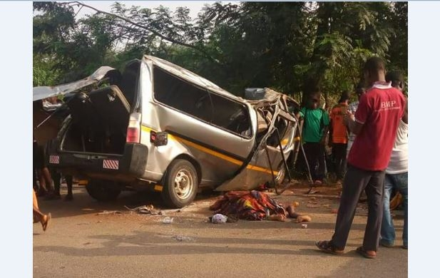 SAD: 8 confirmed dead in car crash near Agona Nkwanta