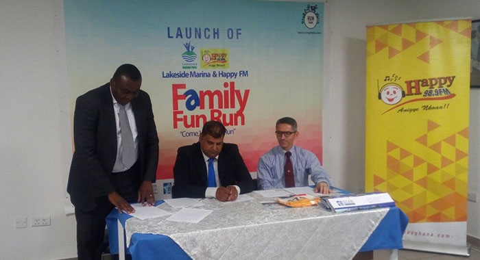 7th EDITION OF HAPPY FM- LAKESIDE MARINA FAMILY FUN RUN LAUNCHED