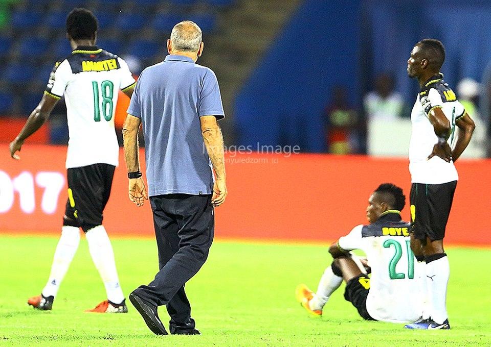 Ghana heart-broken as late double sends Cameroon through