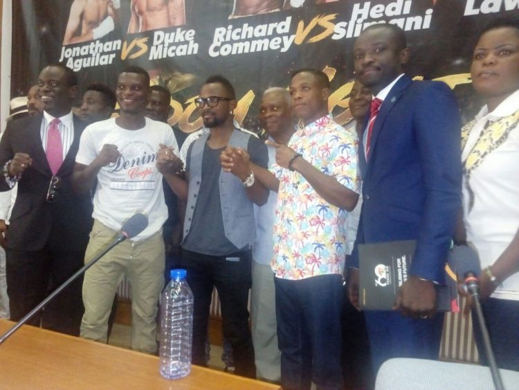 Ghana @ 60 Boxing Festival: Richard Commey to battle Hedi Slimani, Duke Micah faces Aguilar
