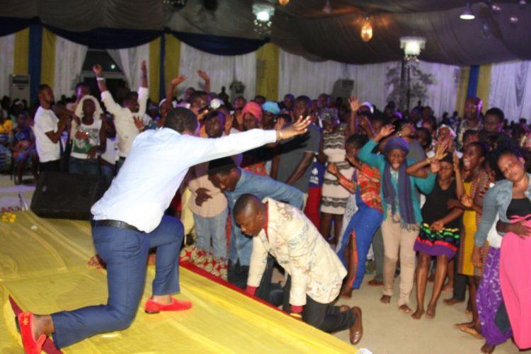 Hundreds receive breakthrough at NIGHT OF RESTORATION