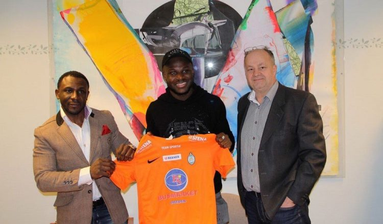 Emmanuel Frimpong joins Swedish top-flight side Eskilstuna