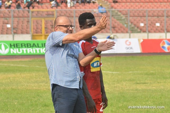 Kotoko coach Lugarusic elated with point at Chelsea