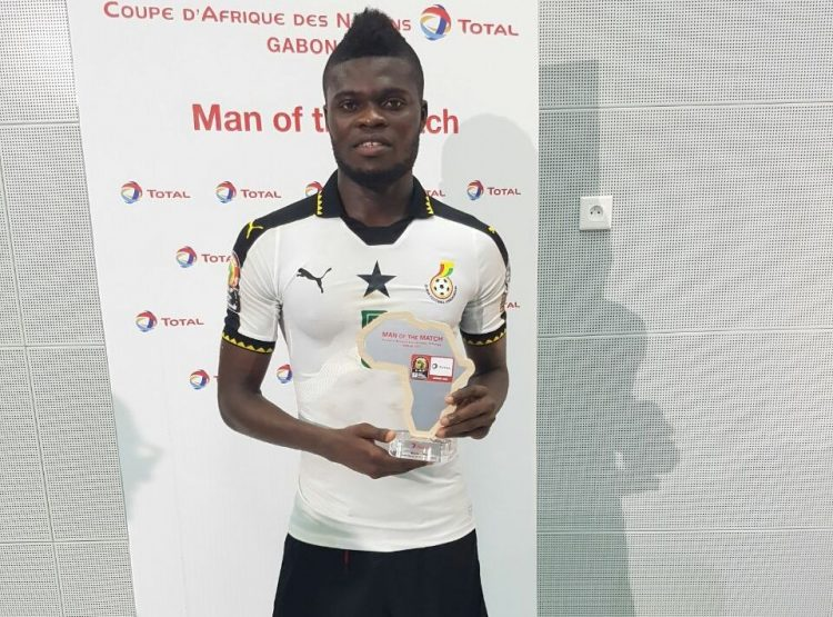 Partey sends heart-warming message to Ghanaians