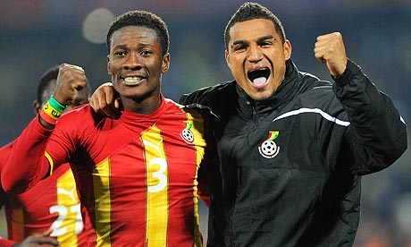 Asamoah Gyan Blasts KP Boateng Over Twitter Comment