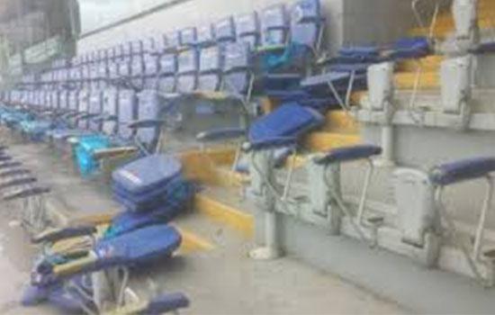 Over 3000 Seats Destroyed At Baba Yara Stadium