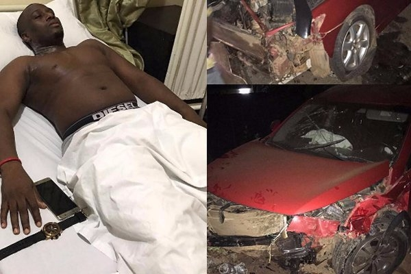 PHOTOS: HipLife Artiste Coded Involved In Near Fatal Accident