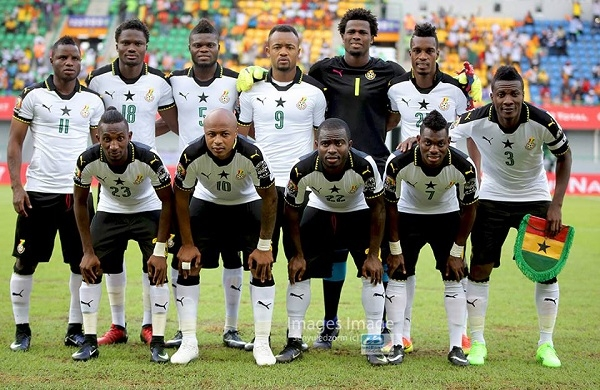 Ghana moves 9 places up in latest FIFA Ranking
