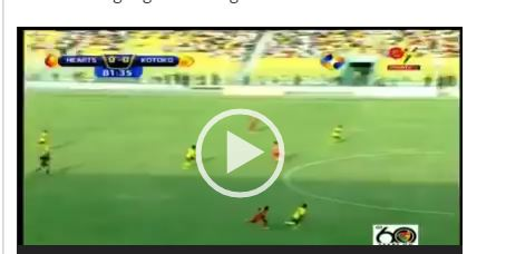 VIDEO: Watch highlights of the Hearts-Kotoko clash including controversial penalty call
