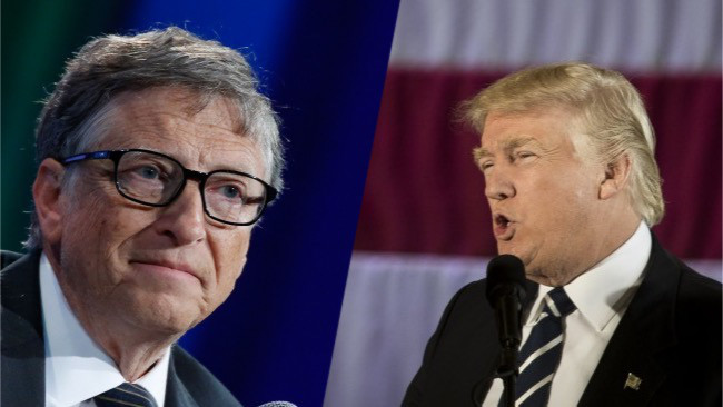 Bill Gates is world's richest man again as Trump tumbles on Forbes list