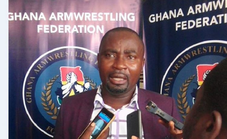 The Future Is Bright For GOC – Ghana Armwrestling Boss