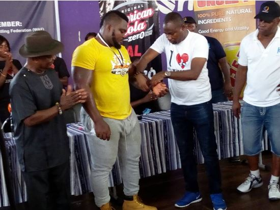 Nii Armah scoops ultimate prize at Armwrestling National Championship