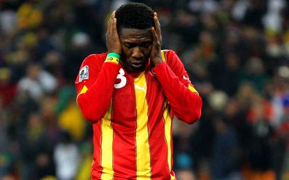 Asamoah Gyan discloses he was racially abused during his days in Italy