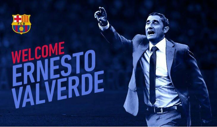 Meet Barcelona's new coach Ernesto Valverde