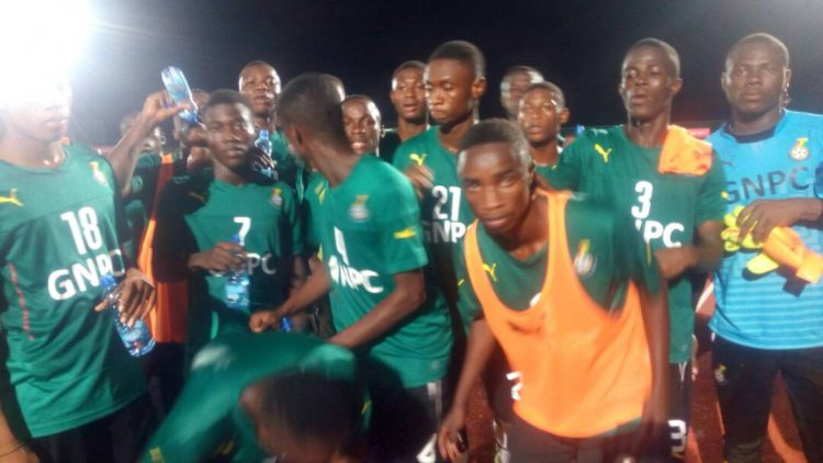 PHOTOS: Black Starlets hold first training in Port Gentile ahead of Africa U-17 Championship