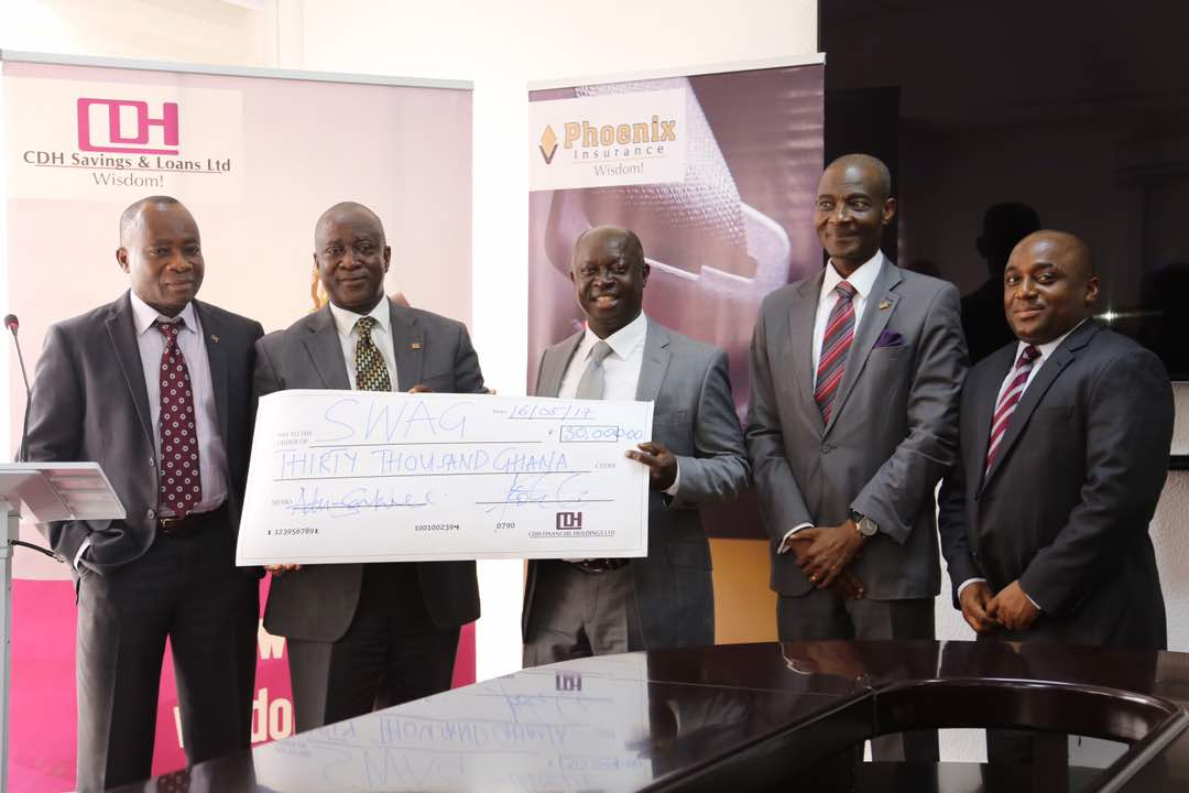 CDH Supports SWAG with GHC 30,000 for Awards Night