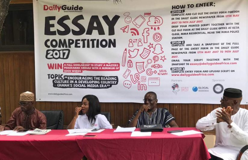 DAILY GUIDE LAUNCHES 2017 ESSAY COMPETITION