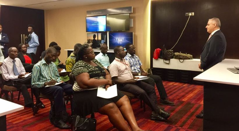 Ericsson showcases its technology in Ghana