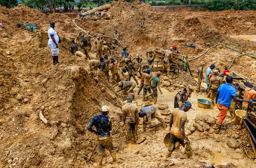 21-year-old man slips and dies in abandoned galamsey pit