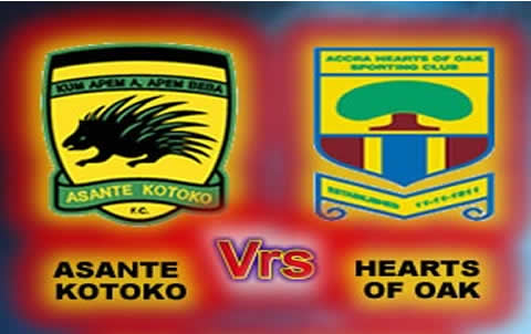Ghana @60 Cup second leg between Asante Kotoko and Hearts of Oak postponed as GFA refuses to sanction game