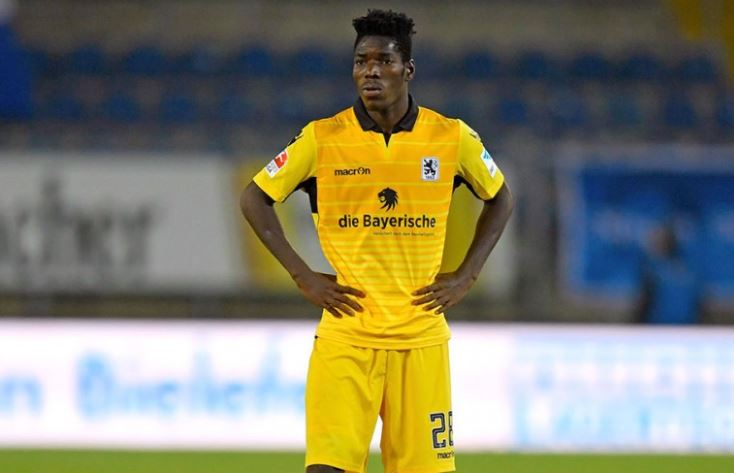 Black Stars newboy Lumor Agbenyenu suffers relegation with 1860 Munich