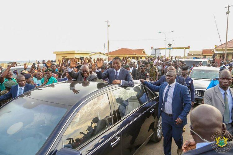 PHOTOS: Gnassingbé welcomes Akufo-Addo to Togo