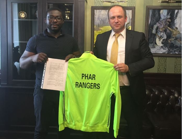 Phar Rangers FC sign 3-year cooperation agreement with Dynamo Brest