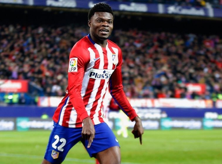 Thomas Partey relishes moving from grass to grace by playing for Atletico Madrid