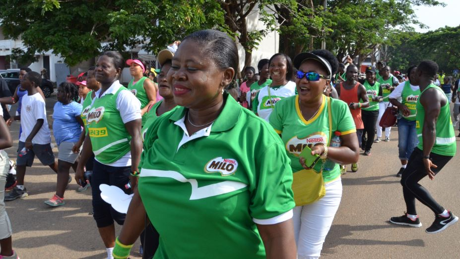 NESTLE MILO CELEBRATE MOTHERS WITH FUN GAMES