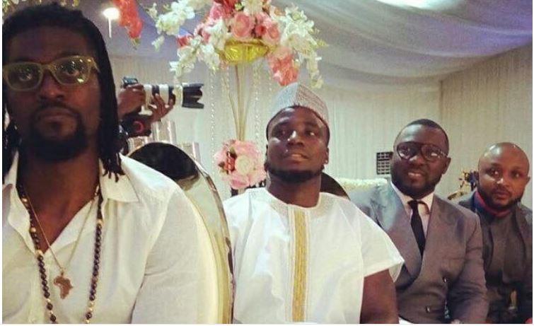PHOTOS: Adebayor, Stephen Appiah, Kinaata, Lilwin and other celebs who were at STONEBWOY's Wedding