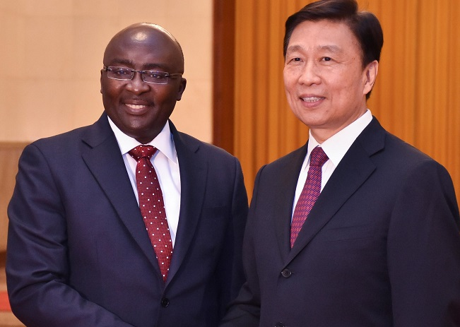 China gives Ghana $2bn to finance one-district, one-factory - Veep