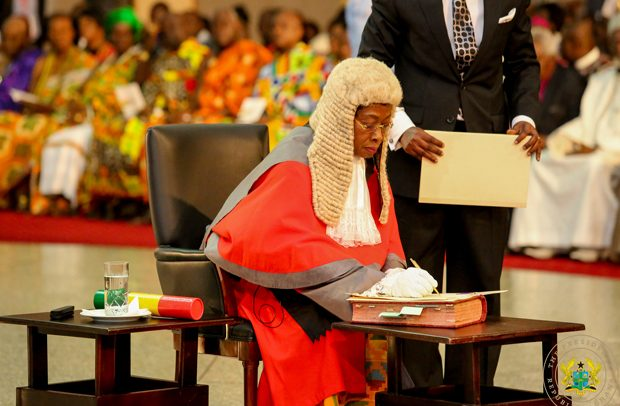 Sophia Akuffo Takes Over As Chief Justice