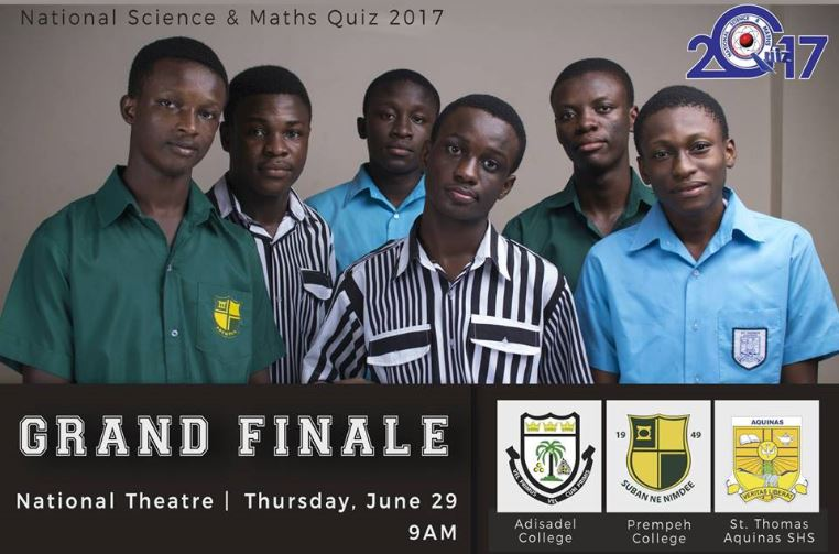 #NSMQ2017: Adisadel, Prempeh, ST. Thomas Aquinas set for grand finale today