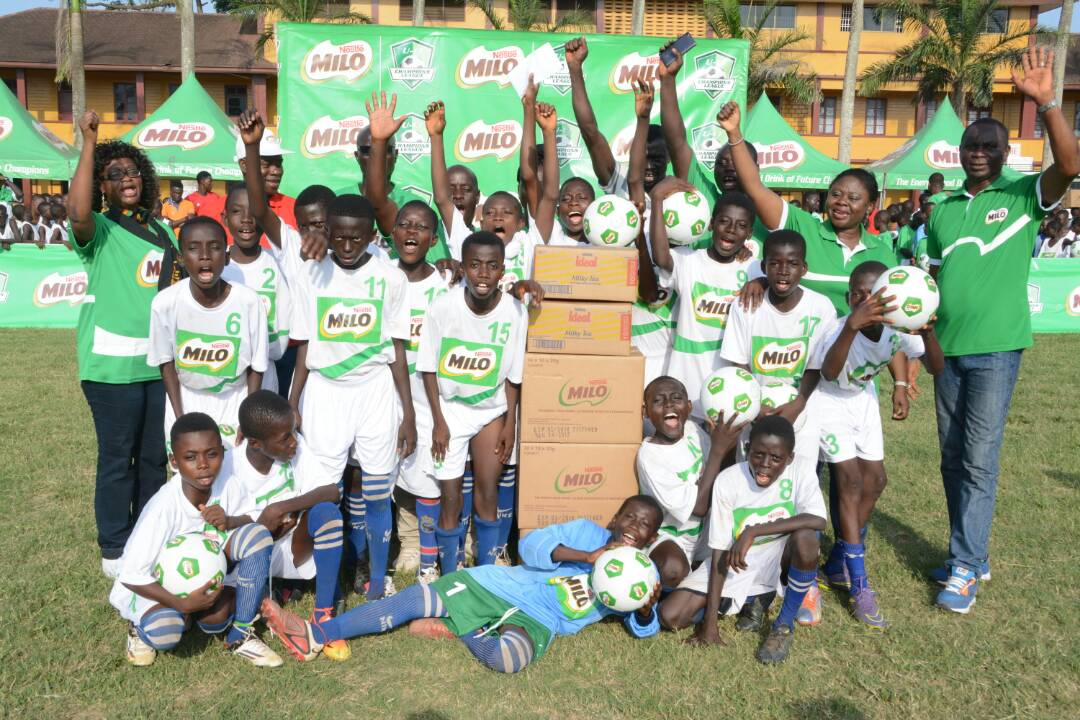 Nestlé MILO invests in school and grassroots sports development in Ghana