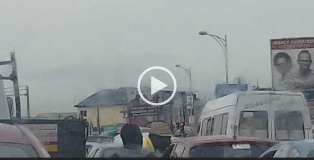 VIDEO: Ghanaian Actor Fights Driver in Traffic
