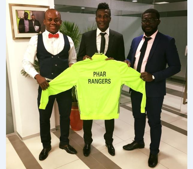 Asamoah Gyan Named Honorary President of Phar Rangers FC