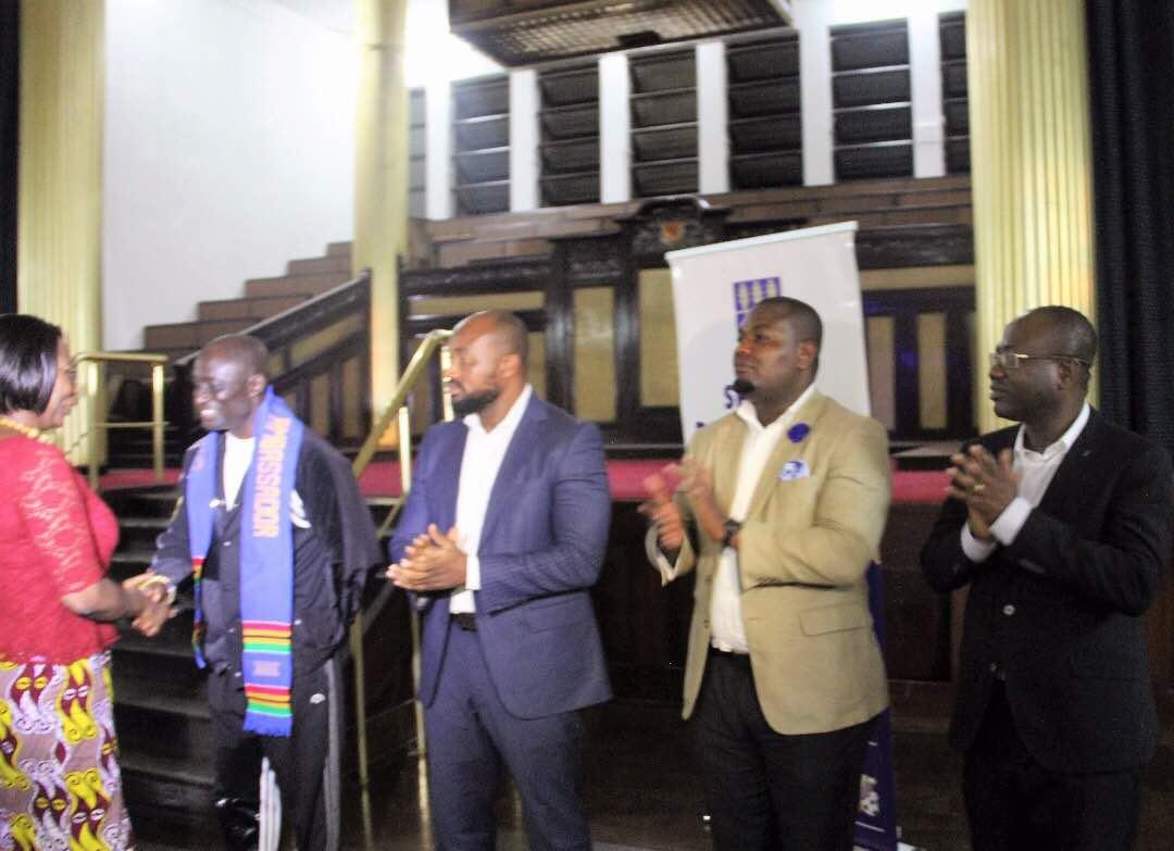 Reks Brobby, Kwesi Nyantakyi, MC Dan honoured by University of Ghana